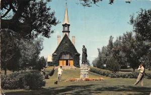 Canada Nova Scotia, Grand Pre, Replica of Church of St. Charles 1968