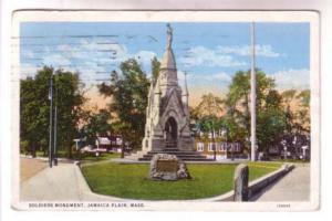 Soldiers Monument, Jamaica Plains Massachusetts