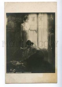199170 Belle Lady & dressmaker by BREAUTE Vintage SALON 1905
