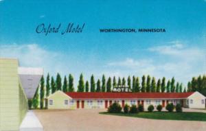 Oxford Motel Worthington Minnesota