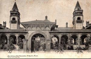 Florida St Augustine Ponce De Leon Hotel Main Entrance