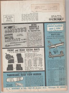 1961 J C Whitney & Co Parts and Accessories for Imported Cars, VW Bug