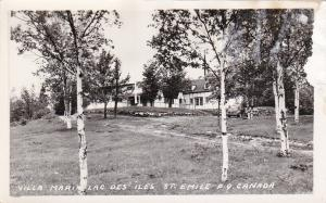 RP: Villa Maria Lac Des Iles , ST. EMILE , Quebec , Canada , 30-40s