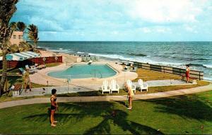 Florida Pompano Beach Palm Ocean Villas Swimming Pool