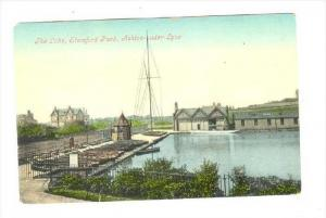 The Lake, Stamford Park, Ashton-under-Lyne, England, UK, 1900-1910s