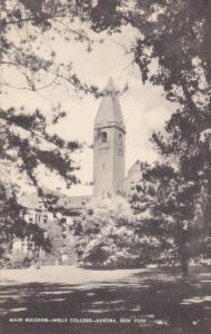 Main Building, Wells College, AURORA, New York, 1910-1920s