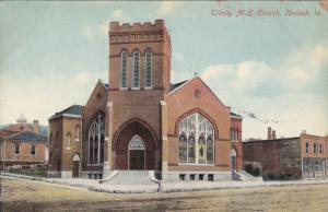 KEOKUK, Iowa, 1900-1910's; Trinity M.E. Church