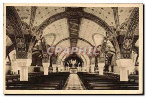 Postcard Old Basilica of Lisieux