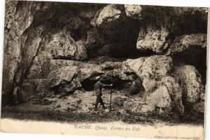 CPA BAUME-les-MESSIEURS - Grottes des Tufs (212288)