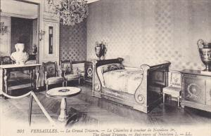 France Versailles Le Grand Trianon La Chambre a coucher de Napoleon 1er