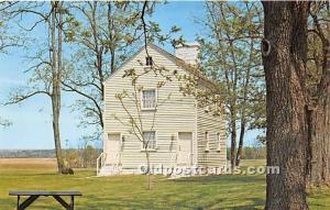 Old Vintage Shaker Post Card First Ministry's Work Shop Pleasant Hill, K...