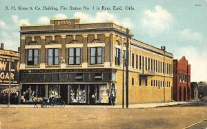 Fire Related SH Kress & Co Building, Fire Station No 1 Enid, Oklahoma, USA 1911