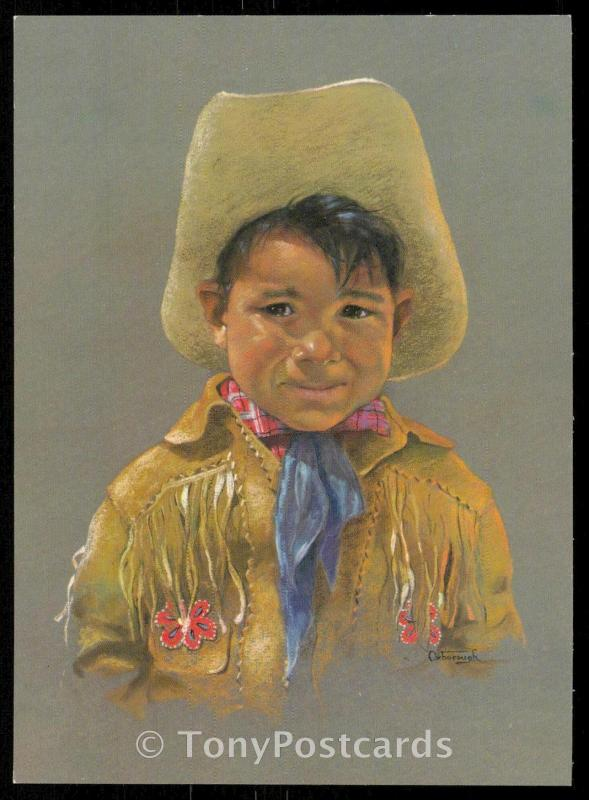 Canadian Indian Child by Dorothy Oxborough