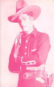 Cowboy Western Actor Mutoscope Unused