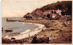 Babbacombe Beach Cary Arms Torquay Beach Partial view