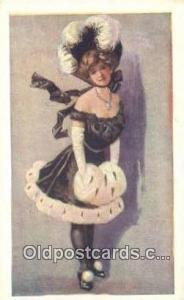 Artist Wasko, Edward Postcard Post Card, Old Vintage Antique unused