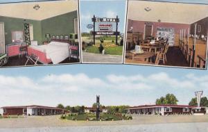 4-views,  El-Myra Auto Court & Restaurant,  Lumberton,  North Carolina,  40-60s