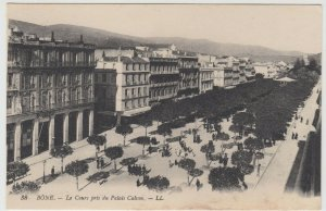 Algeria; Bone, The Cours From Calvin Palace PPC, By Levy, LL 38, Unused, c 1910s