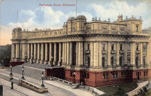 Parliament House, Melbourne, Australia, Early Postcard, Unused