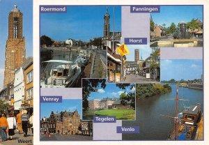 Netherlands Roermond Venray Tegelen Venlo Horst Panningen Weert Postcard