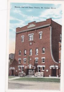 MT. CARMEL, Illinois, 00-10s; Masonic Hall and Palace Theatre