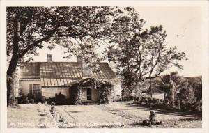 Virginia Charlottesville Ash Lawn Monroe's Cabin Real Photo