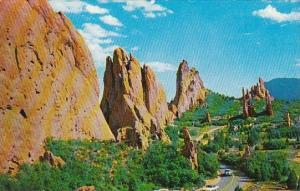Colorado Denver View From Hidden Inn Garden Of The Gods