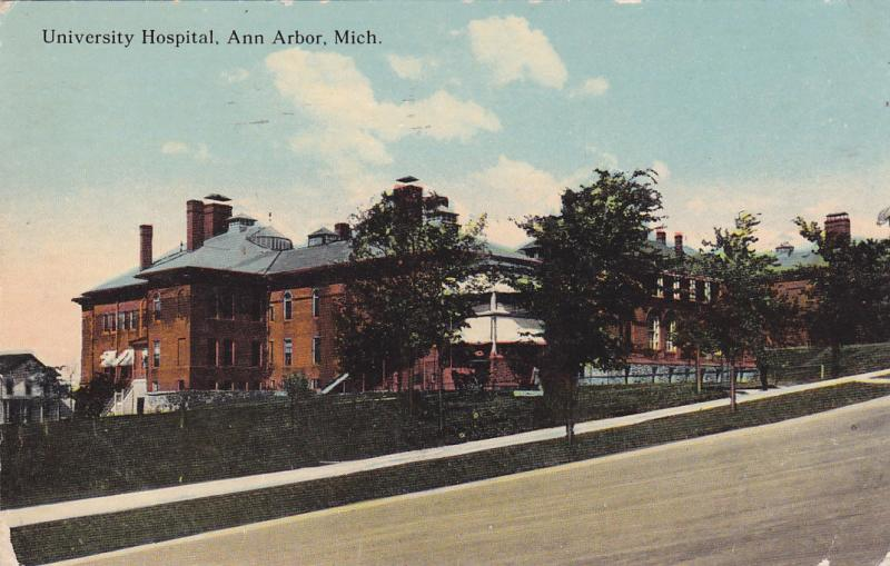 ANN ARBOR, Michigan, PU-1912; University Hospital