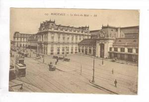 La Gare Du Midi, Bordeaux (Gironde), France, 1900-1910s
