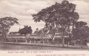 Queen´s Park Hotel, Port Of Spain, Trinidad, B.W.I., 1900-1910s