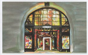 Rizzoli Bookstore New York City Book Shop Oil Painting Postcard