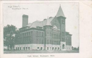 High School , MUSKEGON, Michigan , 00-10s