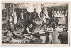 RPPC - Violin Maker - Signed Jos Reiter