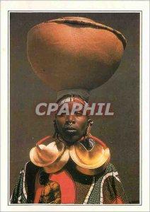 Postcard Modern Mali Djenne Woman with gold rings
