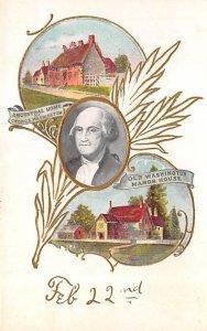 43883 George Washington Unused