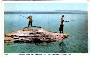 TAMMEN 4301 Fishing Cone, Y'stone Lake, Yellowstone National Park