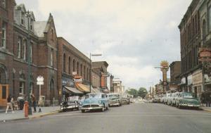 GANANOQUE, Ontario, Canada, 1940-60s; King St., Looking East