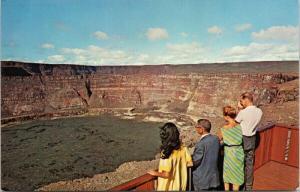 Halemaumau Crater & Look-Out Hawaii HI Bud Thuener Postcard D82 UNUSED