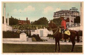 Canada  Niagra Falls Royal Canadian Police and Oakes Garden