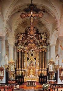 Belgium Eupen: Sankt Nikolaus Kirche Barock Altar, Eglise Saint Nicolas Church