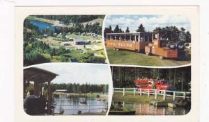 Miniature Train , Youghall Trailer Park , BATHURST , New Brunswick , Canada ,...