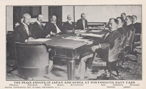PORTSMOUTH, New Hampshire, 1905; The Peace Envoys Of Japan And Russia