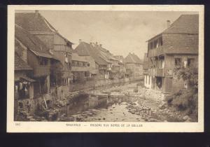 MASEVAUX MASONS AUX BORDS DE LA DOLLER GERMANY ANTIQUE VINTAGE POSTCARD