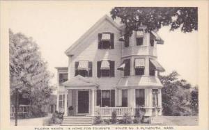 Massachusetts Plymouth Pilgrim Haven Tourist Home Artvue