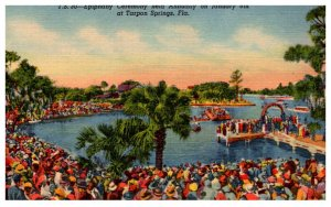 Florida  Tarpon Springs  Epiphany Ceremony