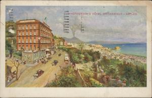 Naples Napoli MacPherson's Hotel Britannique