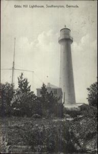 Southampton Bermuda Gibbs Hill Lighthouse c1910 Postcard