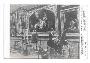 Salon de 1912 Paris Louis Beroud Artist ND Photo Musee Louvre Murillo Postcard