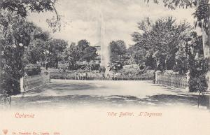 CATANIA , Italy , 00-10s ; Villa Bellini. L'Ingresso