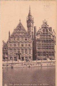 Belgium Gent Gand Maison des Mesureurs de grains et des Bateliers